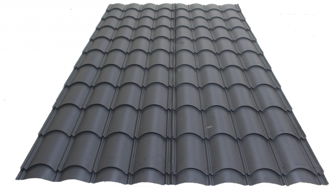 Bingwa Longtile Matte Finish Charcoal Grey